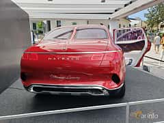 Back of Mercedes-Benz Vision Mercedes-Maybach Ultimate Luxury 90 kWh Single Speed, 748ps, 2018