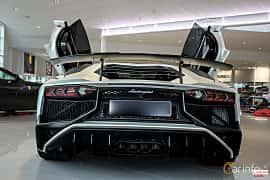 Back of Lamborghini Aventador LP 750-4 SV 6.5 V12 ISR, 750ps, 2017