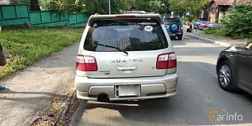 Back of Subaru Forester STI 2.0 4WD Manual, 250ps, 2001