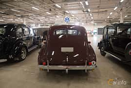 Back of Volvo PV60 3.7 Manual, 90ps, 1946 at Bilsport Performance & Custom Motor Show 2018