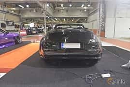 Back of Nissan 350Z Roadster 3.5 V6  280ps, 2005 at Bilsport Performance & Custom Motor Show 2019
