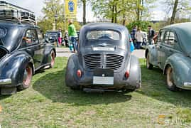 Back of Renault 4CV 0.7 Manual, 18ps, 1951 at Fest För Franska Fordon  på Taxinge slott 2019