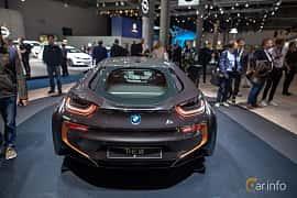 Bak av BMW i8 1.5 + 11.6 kWh Steptronic, 374ps, 2020 på IAA 2019