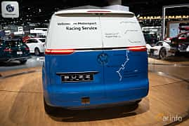 Back of Volkswagen I.D. Buzz Cargo 111 kWh Single Speed, 204ps, 2018 at LA Motor Show 2018