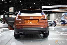 Back of Cadillac XT4 2.0 Turbo AWD Automatic, 241ps, 2019 at LA Motor Show 2018