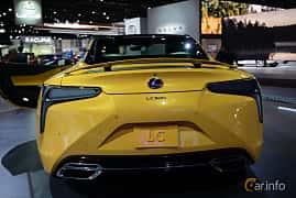 Bak av Lexus LC 500 5.0 V8 Automatic, 477ps, 2019 på LA Motor Show 2018