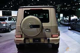 Bak av Mercedes-Benz G 500  9G-Tronic, 421ps, 2019 på LA Motor Show 2018