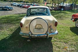Back of Nash Metropolitan 1.5 Manual, 53ps, 1957 at Lissma Classic Car 2019 vecka 20
