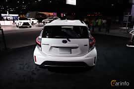 Bak av Toyota Prius c 1.5 VVT-i ECVT, 101ps, 2018 på North American International Auto Show 2018