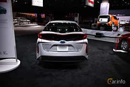 Bak av Toyota Prius Plug-in Hybrid 1.8 VVT-i Plug-in CVT, 123ps, 2017 på North American International Auto Show 2018