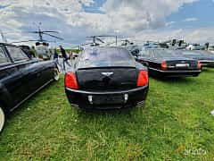 Back of Bentley Continental Flying Spur 6.0 W12 560ps, 2007 at Old Car Land no.1 2019