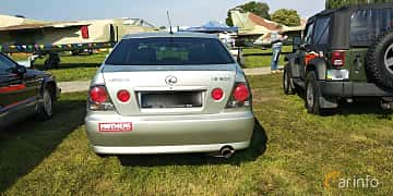 Back of Lexus IS 200 2.0 Manual, 155ps, 2000 at Old Car Land no.1 2019