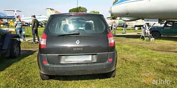 Back of Renault Scénic 1.6 Manual, 113ps, 2005 at Old Car Land no.1 2019