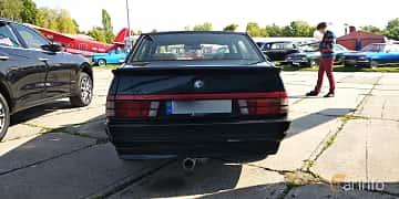 Back of Alfa Romeo 75 2.0 Manual, 145ps, 1991 at Old Car Land no.1 2019