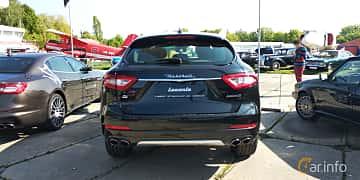 Back of Maserati Levante  Automatic, 350ps, 2019 at Old Car Land no.1 2019