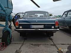 Back of GAZ GAZ-24 2.4 Manual, 95ps, 1975 at Old Car Land no.2 2017