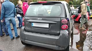 Back of Smart fortwo 2007 at Old Car Land no.2 2018
