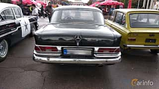 Back of Mercedes-Benz W111 Sedan 1963 at Old Car Land no.2 2018