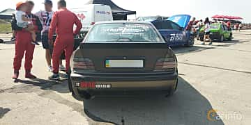 Back of BMW 318is Coupé  Manual, 140ps, 1993 at Proudrs Drag racing Poltava 2019