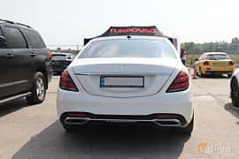 Back of Mercedes-Benz S 350 d  7G-Tronic Plus, 258ps, 2017 at Proudrs Drag racing Poltava 2019