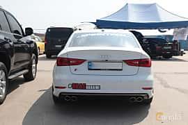 Back of Audi S3 Sedan 2.0 TFSI quattro 300ps, 2016 at Proudrs Drag racing Poltava 2019