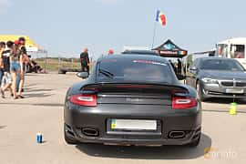 Back of Porsche 911 Turbo 3.8 H6 4 500ps, 2010 at Proudrs Drag racing Poltava 2019