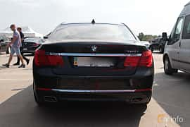 Back of BMW 750i  Steptronic, 408ps, 2009 at Proudrs Drag racing Poltava 2019