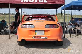 Back of Toyota Supra 1993 at Proudrs Drag racing Poltava 2019