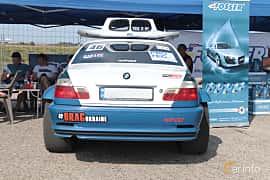 Back of BMW 328Ci Coupé  Manual, 193ps, 1999 at Proudrs Drag racing Poltava 2019