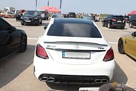 Back of Mercedes-Benz AMG C 63  , 476ps, 2019 at Proudrs Drag racing Poltava 2019