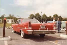 Back/Side of Chrysler 300 Hardtop 6.4 V8 Automatic, 386ps, 1958
