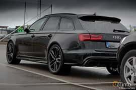 Back/Side of Audi RS 6 Avant 4.0 TFSI V8 quattro TipTronic, 560ps, 2013