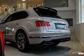 Back/Side of Bentley Bentayga 6.0 W12 Automatic, 608ps, 2016