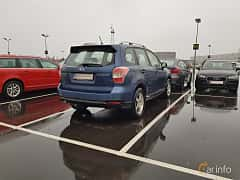 Back/Side of Subaru Forester 2.0 4WD Manual, 150ps, 2013