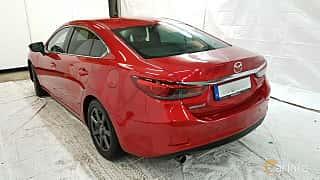 Back/Side of Mazda 6 Sedan 2.2 SKYACTIV-D Automatic, 175ps, 2015