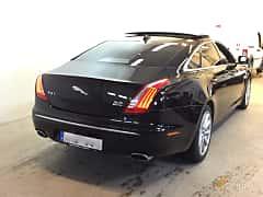 Back/Side of Jaguar XJ LWB 3.0 V6 AWD Automatic, 340ps, 2014