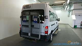 Back/Side of Opel Movano Minibus 3.0 CDTI Manual, 136ps, 2003
