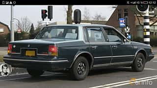 Bak/Sida av Oldsmobile Cutlass Ciera Sedan 1982