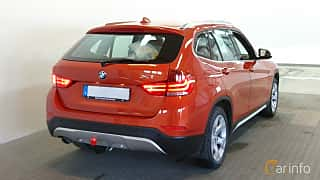 Back/Side of BMW X1 xDrive20d 2.0 xDrive Steptronic, 184ps, 2015