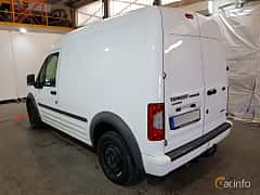 Back/Side of Ford Transit Connect LWB 1.8 TDCi Manual, 90ps, 2012