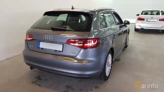 Bak/Sida av Audi A3 Sportback 1.6 TDI Manual, 110ps, 2016