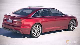 Bak/Sida av Audi A6 55 TFSI quattro  S Tronic, 340ps, 2018