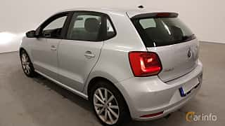 Back/Side of Volkswagen Polo 5-door 1.2 TSI BlueMotion Manual, 90ps, 2015