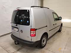 Back/Side of Volkswagen Caddy Panel Van 1.6 TDI Manual, 102ps, 2013