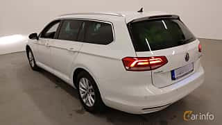 Back/Side of Volkswagen Passat Variant 2.0 TDI BlueMotion DSG Sequential, 150ps, 2016