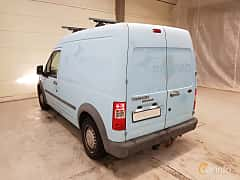 Back/Side of Ford Transit Connect LWB 1.8 TDCi Manual, 90ps, 2007