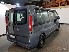 Back/Side of Nissan Primastar Combi 2.0 dCi Manual, 114ps, 2011