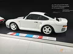 Bak/Sida av Porsche 959 2.8 4 Manual, 450ps, 1988