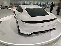 Bak/Sida av Porsche Mission E Electric Single Speed, 598ps, 2015