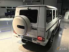 Bak/Sida av Mercedes-Benz G 63 AMG LWB  AMG-SpeedShift Plus 7G-Tronic, 571ps, 2018
